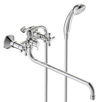 """ВА349АА """"Ретро"""" Смеситель для ванны излив 400 мм"""