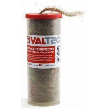 Нить сантехническая льняная для резьбовых соединений (55м) VT.FLAX.0.055