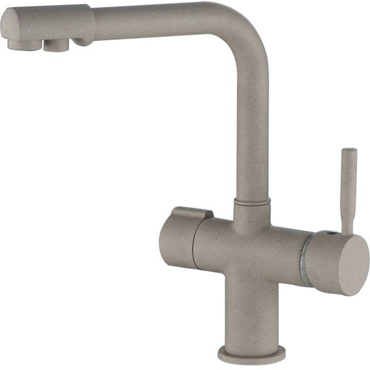 НВ70088-9 Смеситель для кухни с подключением фильтра питьевой воды, бежевый